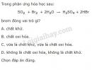 Bài 3 trang 118 sgk Hóa học lớp 10