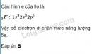 Bài 3 trang 22 sgk hoá học 10