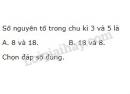 Bài 3 trang 35 SGK Hoá học 10