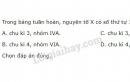 Bài 3 trang 51 sgk hóa học 10