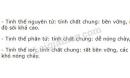 Bài 3 trang 71 SGK Hóa học 10