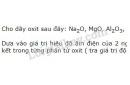 Bài 3 trang 76 SGK Hóa học 10