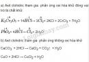 Bài 4 trang 106 sgk Hóa học lớp 10