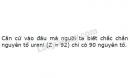 Bài 4 trang 18 SGK Hoá học 10