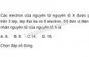 Bài 4 trang 22 sgk hoá học 10