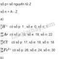 Bài 4 trang 60 sgk hóa học 10