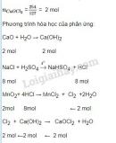 Bài 5 trang 108 sgk Hóa học 10