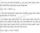 Bài 6 trang 113 sgk Hóa học lớp 10