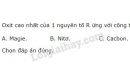 Bài 6 trang 48 sgk hóa học 10