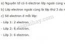 Bài 6 trang 54 SGK Hóa học 10