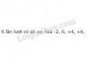 Bài 6 trang 74 SGK Hóa học 10