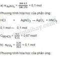 Bài 7 trang 106 sgk Hóa học lớp 10