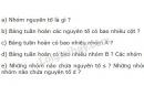 Bài 7 trang 35 sgk hóa học 10