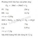 Bài 7 trang 119 sgk Hóa học lớp 10