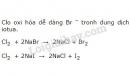 Bài 8 trang 119 sgk Hóa học lớp 10