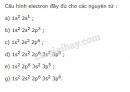 Bài 8 trang 30 sgk hoá học 10