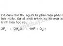 Bài 9 trang 119 SGK Hóa học 10