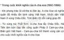 Nhân dân hai nước Việt Nam và Cam-pu-chia đã đoàn kết chiến đấu như thế nào trong các cuộc khởi nghĩa A-cha Xoa và Pu-côm-bô ?