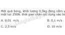 Bài 12 trang 65 SGK Vật lí 10