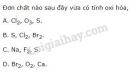 Bài 2 trang 132 SGK Hóa học 10
