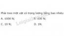 Bài 3 trang 74 SGK Vật lí 10