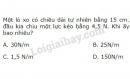 Bài 4 trang 74 SGK Vật lí 10