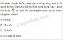 Bài 5 trang 38 SGK Vật lí 10