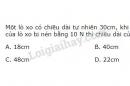 Bài 5 trang 74 SGK Vật lí 10
