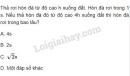 Bài 9 trang 27 SGK Vật lí 10