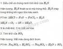 Báo cáo thực hành: Tính chất các hợp chất của lưu huỳnh