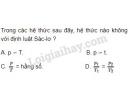 Bài 4 trang 162 SGK Vật lí 10