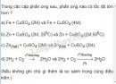 Bài 4 trang 167 SGK Hóa học 10