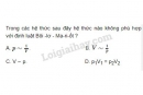 Bài 6 trang 159 SGK Vật lí 10