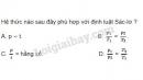 Bài 6 trang 162 SGK Vật lí 10