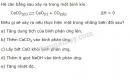 Bài 6 trang 167 SGK Hóa học 10