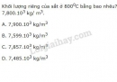 Bài 6 trang 197 SGK Vật lí 10