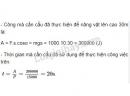 Bài 7 trang 133 SGK Vật lí 10