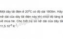 Bài 7 trang 197 SGK Vật lí 10