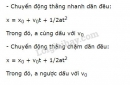Bài 7 trang 22 SGK Vật lí 10