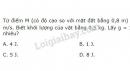 Bài 8 trang 145 SGK Vật lí 10