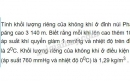 Bài 8 trang 166 SGK Vật lí 10