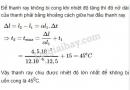 Bài 8 trang 197 SGK Vật lí 10