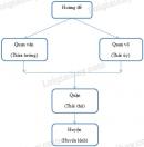 Vẽ sơ đồ tổ chức bộ máỵ nhà nước thời Tần.
