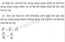 Bài 1 trang 106 SGK Vật lí 10