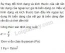 Bài 1 trang 191 SGK Vật lí 10