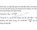 Bài 1 trang 69 SGK Vật lí 10