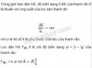 Bài 3 trang 191 SGK Vật lí 10