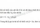 Bài 3 trang 197 SGK Vật lí 10