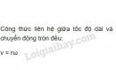 Bài 4 trang 34 sgk Vật lí 10