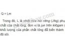 Bài 6 trang 209 sgk Vật lý lớp 10